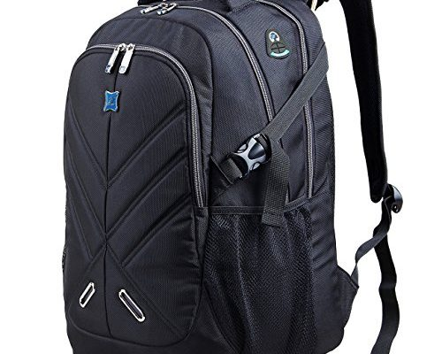 laptop rucksack 17 zoll mit regenschutz durchlass f r wasserdicht als daypack f r buisiness. Black Bedroom Furniture Sets. Home Design Ideas