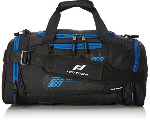 pro touch uni teambag force l sporttasche schwarz blau 70 x 36 x 34 cm schuhe und taschen. Black Bedroom Furniture Sets. Home Design Ideas