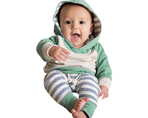 neugeborene kleidung hirolan 3 st ck kleinkind baby junge m dchen kleider set lange h lse. Black Bedroom Furniture Sets. Home Design Ideas
