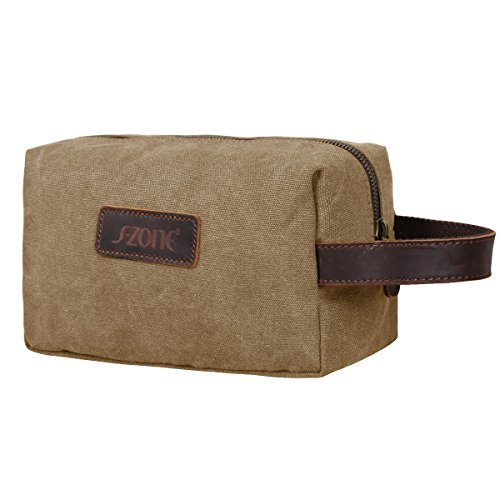 s zone gr ere version vintage segeltuch canvas leder unisex handgep ck reisetasche sporttasche