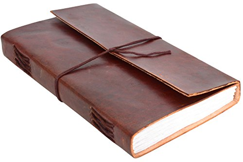 notizbuch gusti leder sophia din a5 handgesch pftes papier blanko nachf llbare seiten echtes. Black Bedroom Furniture Sets. Home Design Ideas