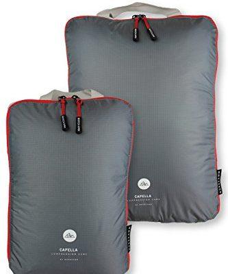 nordkamm packtaschen l mit kompression koffer organizer packw rfel kleidertasche einzeln od. Black Bedroom Furniture Sets. Home Design Ideas
