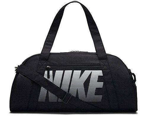 nike damen sporttasche gym club tasche black white one size schuhe und taschen. Black Bedroom Furniture Sets. Home Design Ideas