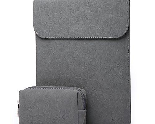 hyzuo wildledern 13 zoll wasserdicht h lle sleeve tasche f r 13 neu macbook pro 2017 2016. Black Bedroom Furniture Sets. Home Design Ideas