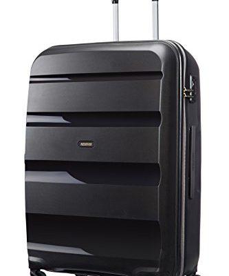 american tourister koffer bon air spinner l 75 cm 91 liters schwarz 59424 1041 schuhe und taschen. Black Bedroom Furniture Sets. Home Design Ideas