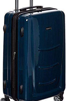 55 cm kabinengr e navy blau amazonbasics hartschalen. Black Bedroom Furniture Sets. Home Design Ideas